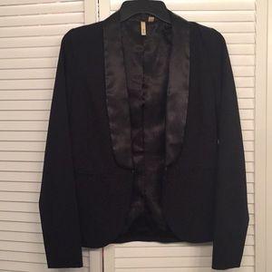 Black Womens Tuxedo Blazer